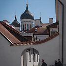 In a Corner of Tallinn, Estonia by Gerda Grice