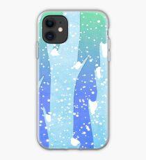 Wintery Trees iPhone Case