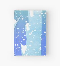Wintery Trees Hardcover Journal