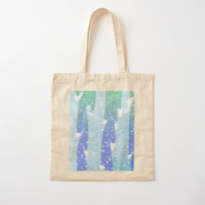Wintery Trees Cotton Tote Bag