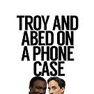 «Troy y Abed en una caja del teléfono» de politedemon
