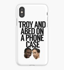 Troy And Abed On A Phone Case  iPhone Case