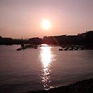 Sunset - Cardiff Bay by Hucksty