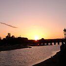 Sunset - Barnstalpe Long Bridge by Hucksty