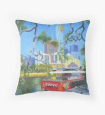 Yarra Cruiser Throw Pillow