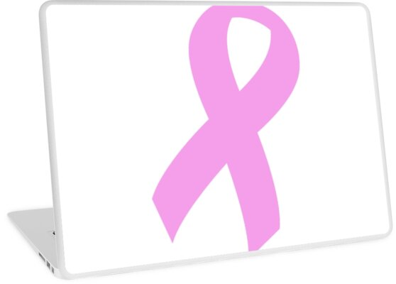 Breast Cancer Ribbon by thatstickerguy
