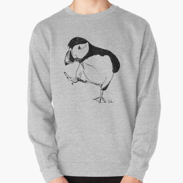 Puffin takes a walk Pullover Sweatshirt