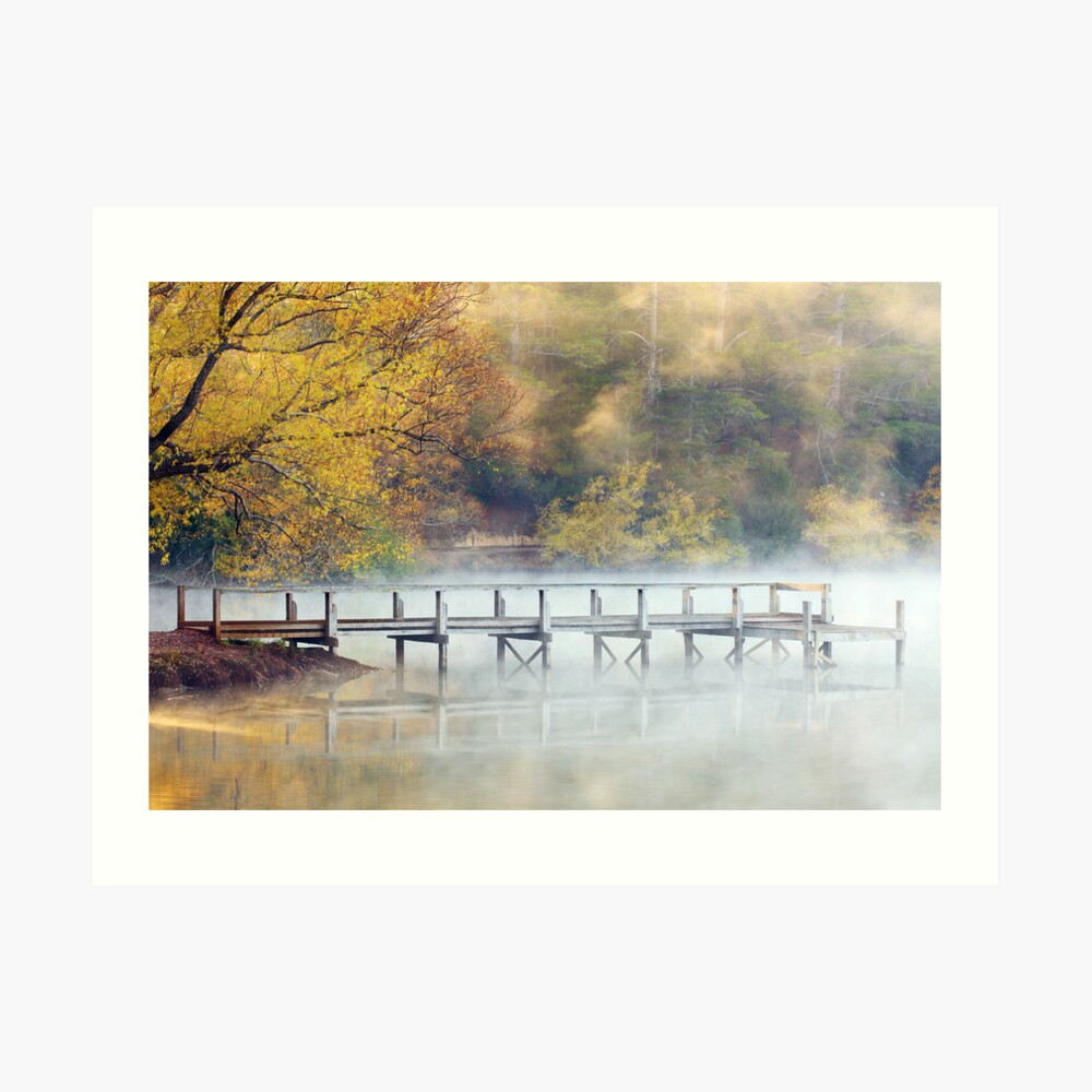 Lake Daylesford Dawn, Victoria, Australia Art Print
