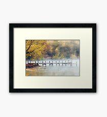 Lake Daylesford Dawn, Victoria, Australia Framed Print