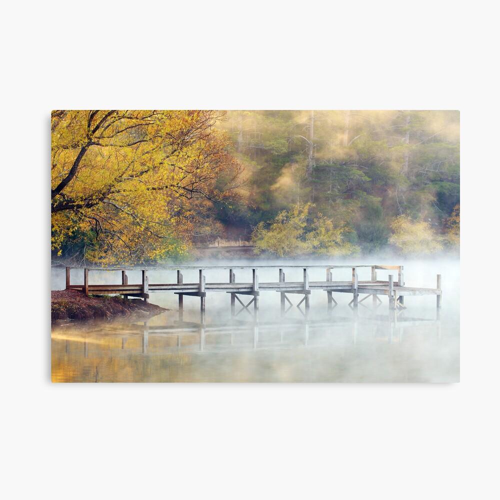 Lake Daylesford Dawn, Victoria, Australia Canvas Print