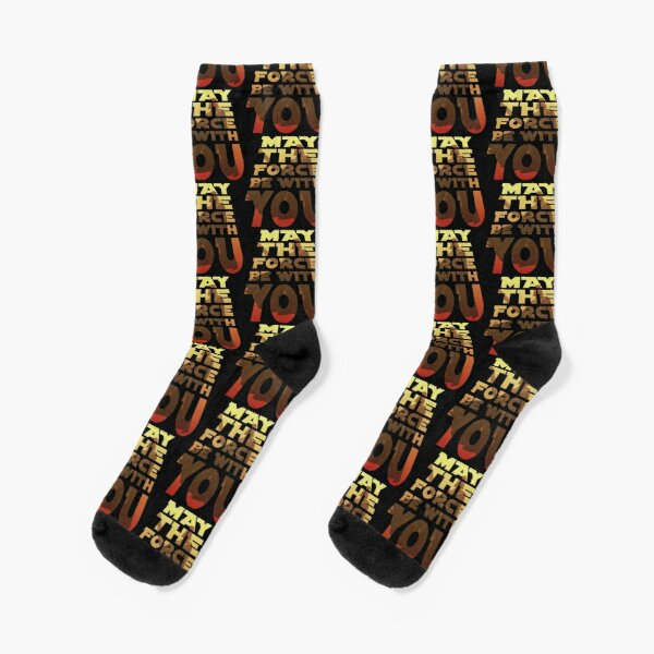 May The Force Be With You Socks