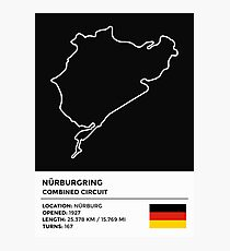 Nürburgring [Combined Circuit] - v2 Photographic Print
