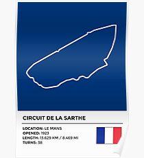 Circuit de la Sarthe - v2 Poster