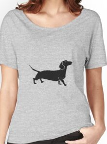 Connect The Doxie Dots Women's Relaxed Fit T-Shirt