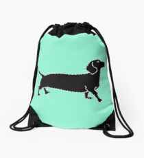 Connect The Doxie Dots Drawstring Bag
