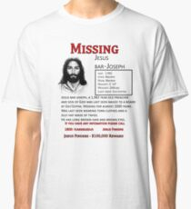 Missing Poster Classic T-Shirt