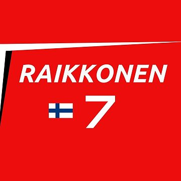 F1 2015 - #7 Raikkonen [v2 Red] by sednoid