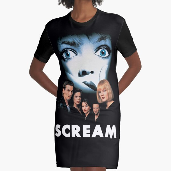 Scream (Ghostface) Graphic T-Shirt Dress