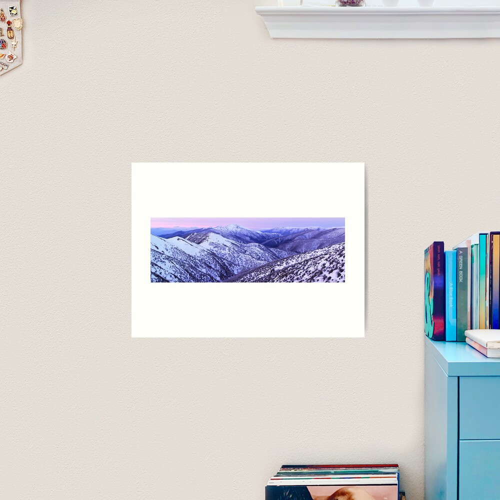 Mt Feathertop Twilight, Victoria, Australia Art Print