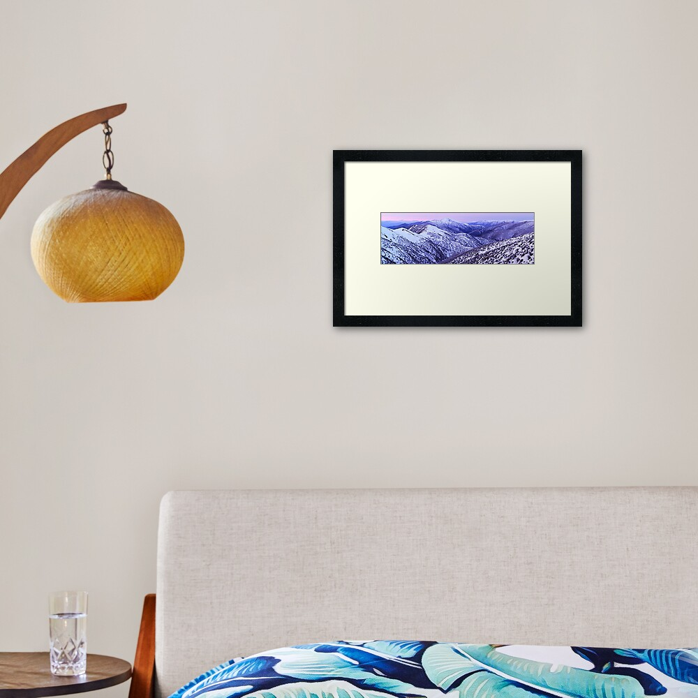 Mt Feathertop Twilight, Victoria, Australia Framed Art Print