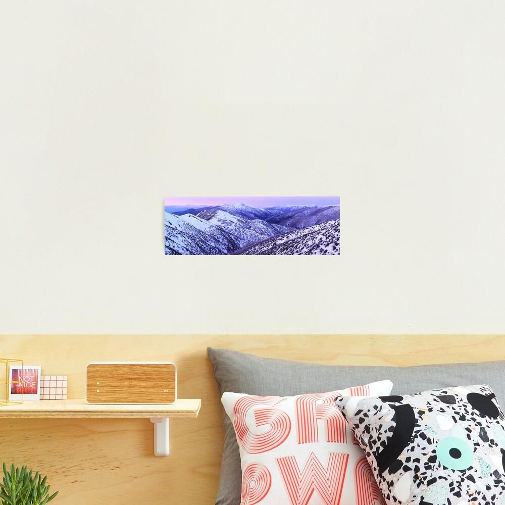 Mt Feathertop Twilight, Victoria, Australia Photographic Print