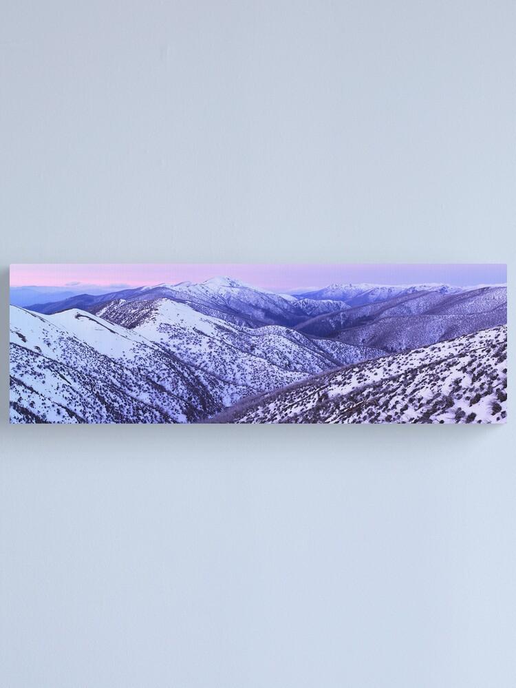 Alternate view of Mt Feathertop Twilight, Victoria, Australia Canvas Print