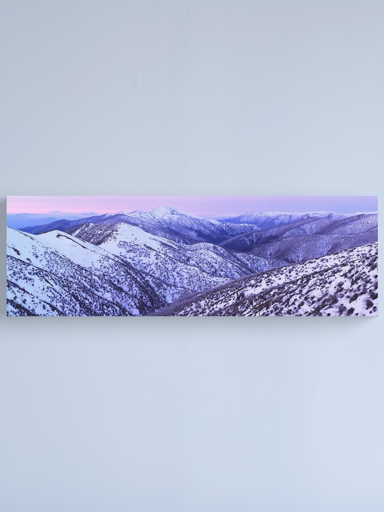 Alternate view of Mt Feathertop Twilight, Victoria, Australia Canvas Print