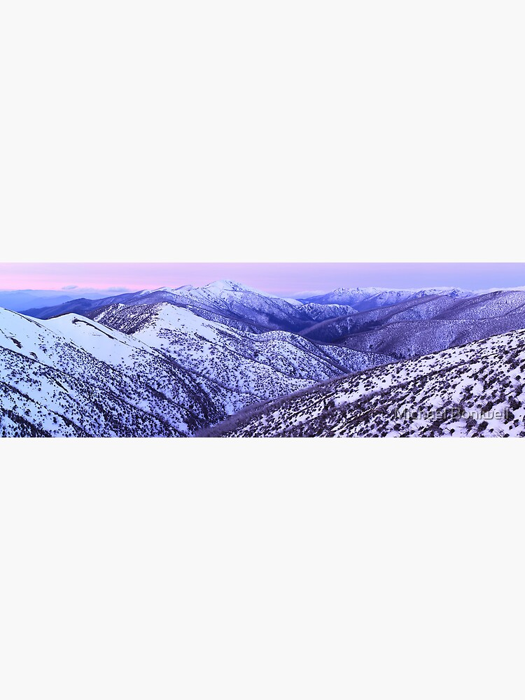Mt Feathertop Twilight, Victoria, Australia by Chockstone