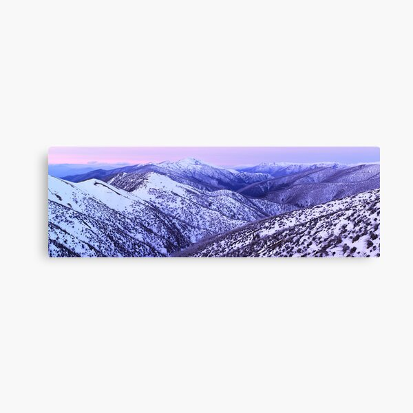 Mt Feathertop Twilight, Victoria, Australia Canvas Print