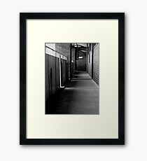 Northcott Part 2 - Residential Common Walkway Framed Print