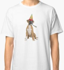 Boxer Birthday Classic T-Shirt