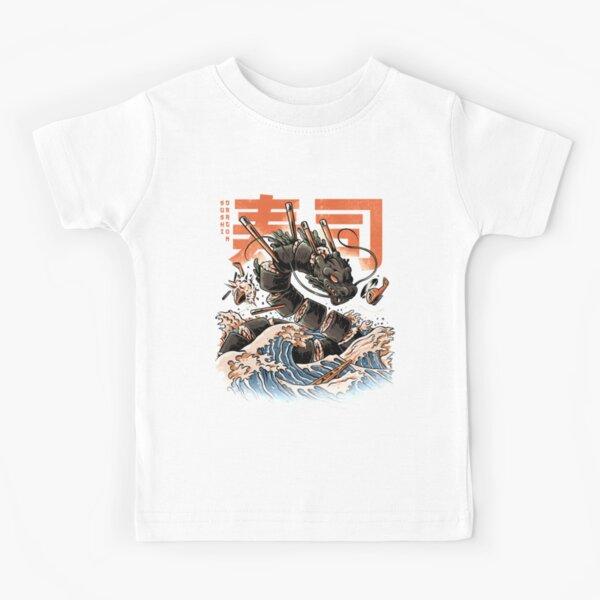 The Black Sushi Dragon Kids T-Shirt