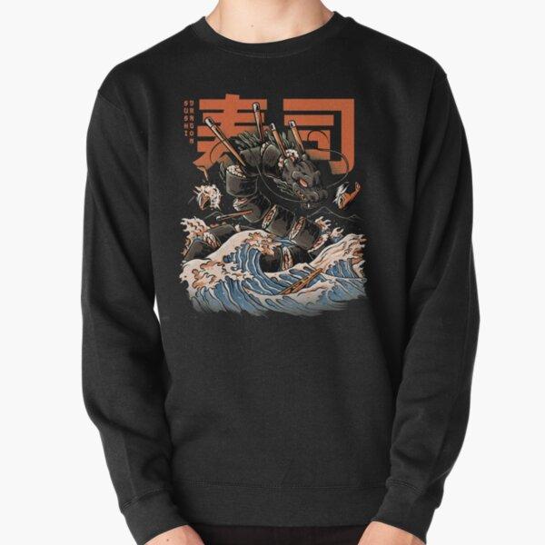 The Black Sushi Dragon Pullover Sweatshirt