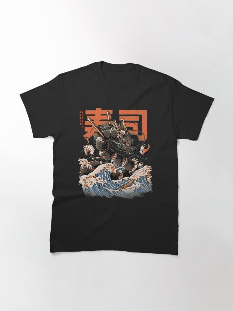 Alternate view of The Black Sushi Dragon Classic T-Shirt