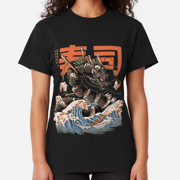 The Black Sushi Dragon Classic T-Shirt