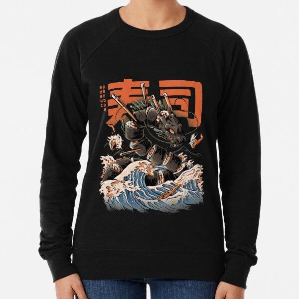 The Black Sushi Dragon Lightweight Sweatshirt