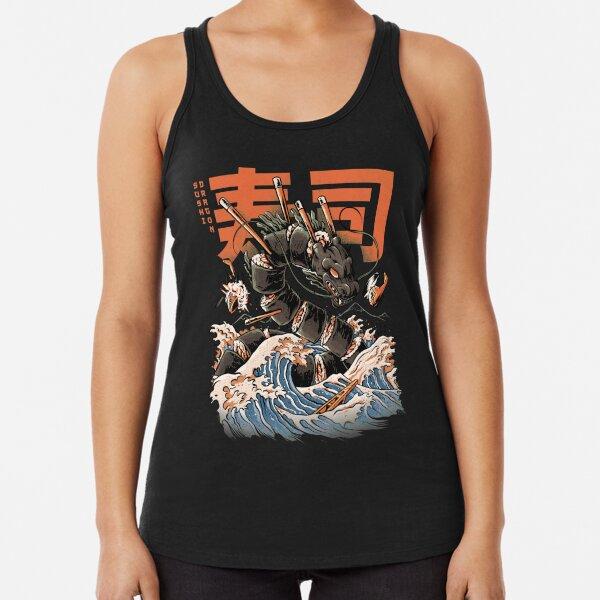 The Black Sushi Dragon Débardeur dos nageur