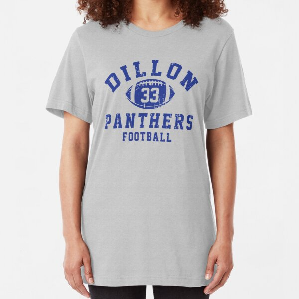 Dillon Panthers Football - 33 Slim Fit T-Shirt