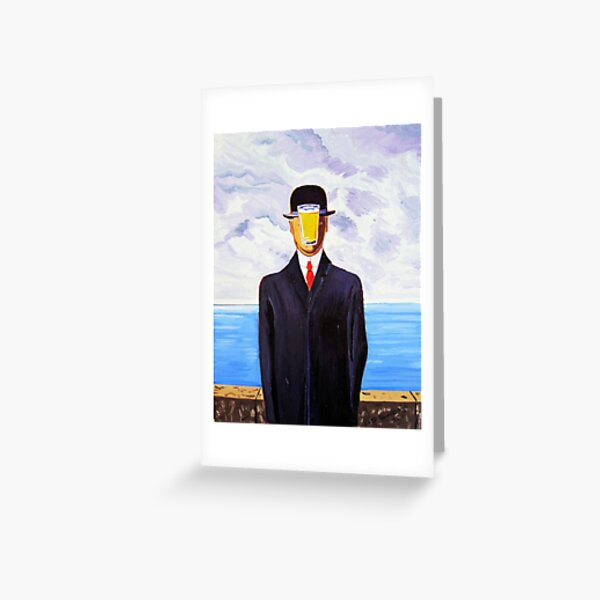 The Pint of Man  Greeting Card