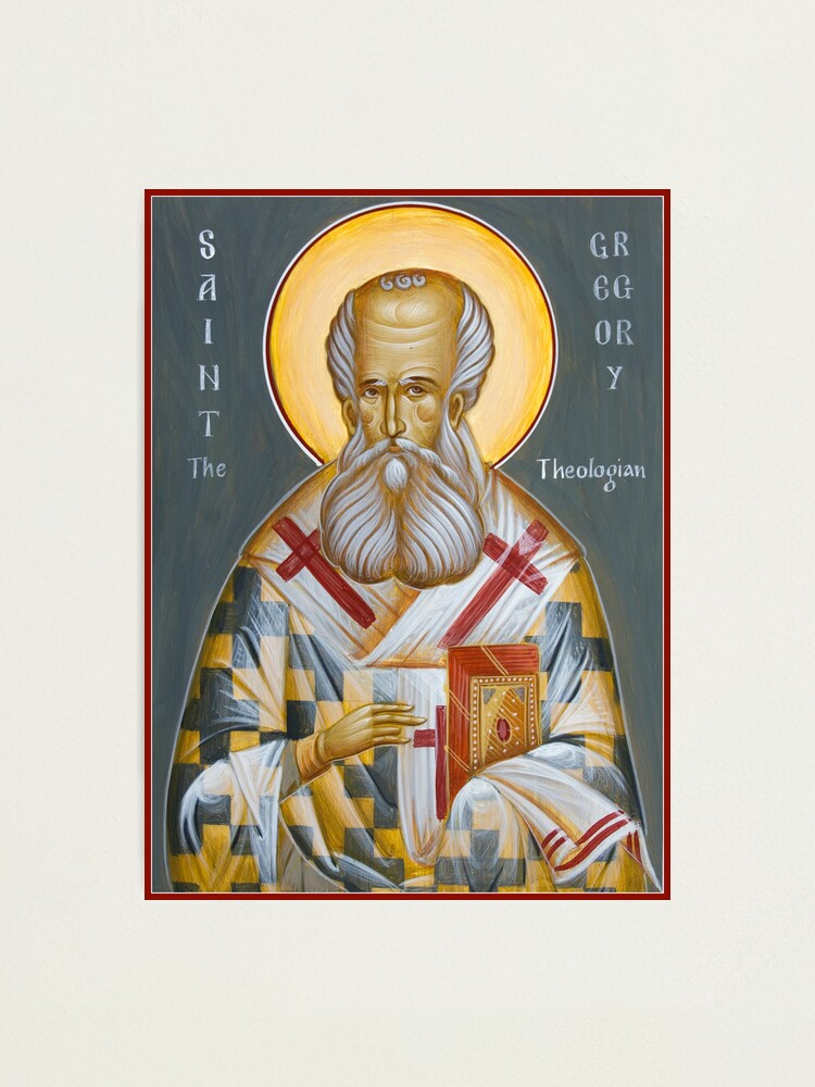 Alternate view of St Gregory the Theologian Photographic Print