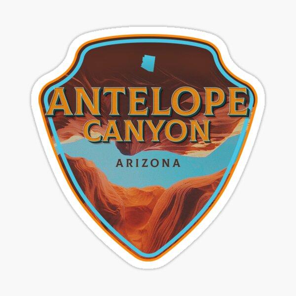 Antelope Canyon Badge Sticker