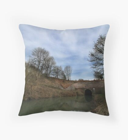 Bruce Tunnel - West End Throw Pillow