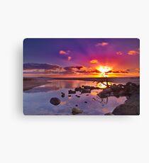 """Dayspring at Fisherman's Beach"" Canvas Print"