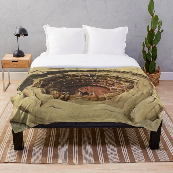 The Sarlacc Pit Throw Blanket