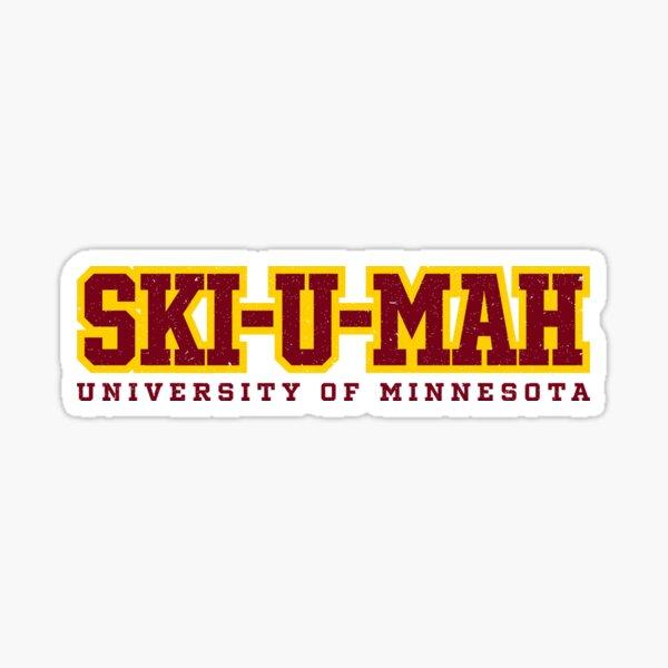 SKI-U-MAH Sticker