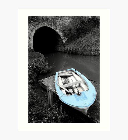 Mooring - Bruce Tunnel Art Print