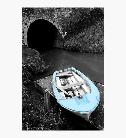 Mooring - Bruce Tunnel Photographic Print