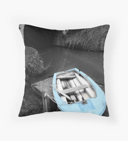 Mooring - Bruce Tunnel Throw Pillow
