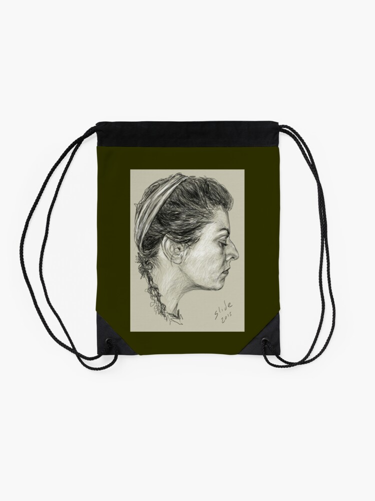 Alternate view of Profile Drawstring Bag