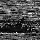 Jagged seas 2 by Richard G Witham